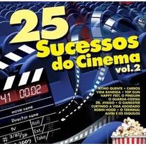 25 Sucessos Do Cinema * Volume 2 * Cd * Frete Grátis Brasil