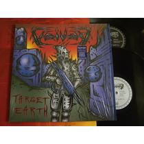 Voivod Target Earth Lp Metallica Megadeth Slayer Destruction