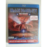 Blu-ray Iron Maiden En Vivo! - Importado Novo Lacrado!!!
