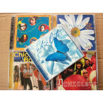 Kit (05) Cds Chiclete Com Banana Borboleta Azul + 4 Cd