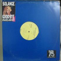 Lp Solange Good Bye Promo Mix Single Ótimo Estado