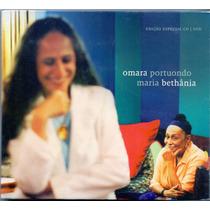 Cd / Dvd Omara Portuondo E Maria Bethânia - Edição Especial