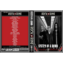 Dvd System Of A Down Rock Am Ring 2011(frete Grátis)