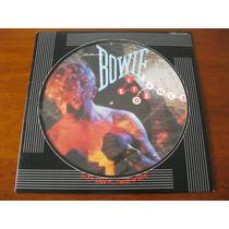 David Bowie : Lindo Lp Picture Japonês ~ Let