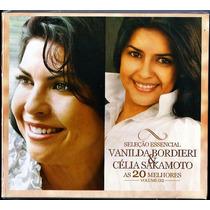 Cd Vanilda Bordieri E Célia Sakamoto - As 20 Melhores- Vol 2