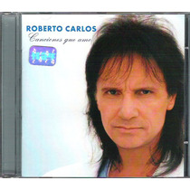 Cd Roberto Carlos - Canciones Que Amo (1997) - Novo Sem Uso