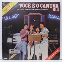 Lp Karaokê - Você É O Cantor Vol 8 - 1985 - Som Game - Cid