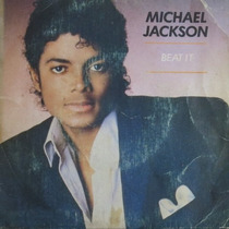 Michael Jackson - Beat It - Compacto De Vinil Raro