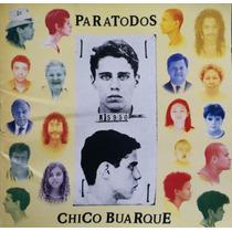 Cd Lacrado Chico Buarque Paratodos 1993
