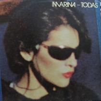 Lp Marina - Todas - Vinil Raro