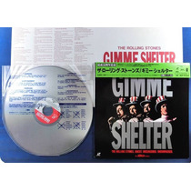 Rolling Stones Gimme Shelter Ld Laser Disc Importado