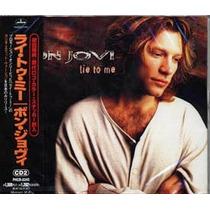 Bon Jovi Single Lie To Me Part 2 - Made In Japan