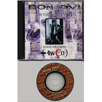 Bon Jovi Single Something For The Pain -made In Japan Minicd