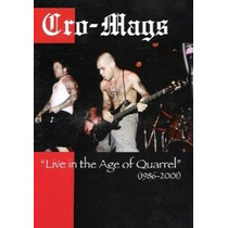 Dvd Cro-mags: Live In The Age Of Quarrel (1986-2001)