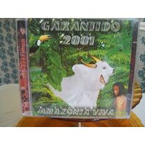 Cd.boi Bumbá Garantido 2001 Amazonia Viva Cd Duplo .