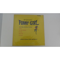 Lp Hit Songs From Funny Girl - Broadway - 1957 Importado
