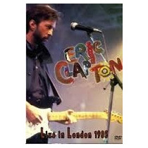 Eric Clapton Live In London 1985 Dvd Novo