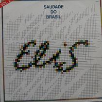 Lp Elis - Saudade Do Brasil - Vinil Raro