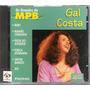 Cd Gal Costa - Os Grandes Da Mpb - Edições Del Prado