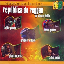 Cd Republica Do Reggae - Edson Gomes, Adao Negro, Timtim