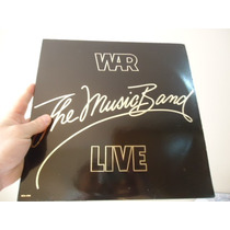 Lp - War - The Music Band - Live - Importado - Encarte