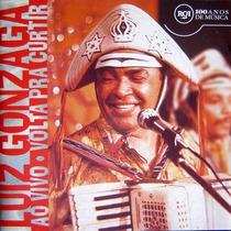 Cd Luiz Gonzaga Ao Vivo Volta Pra Curtir Ano1972 Original