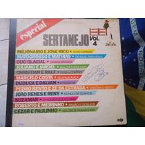 Disco Vinil Lp Especial Sertanejo Vol.4 ##