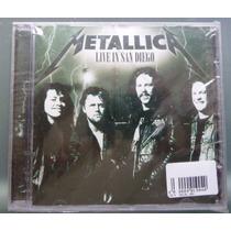 Metallica Live In San Diego (cd Novo E Lacrado)