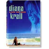 Diana Krall Live Rio Dvd Original Lacrado Jazz Piano & Band