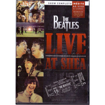 Dvd The Beatles - Live At Shea - Novo***