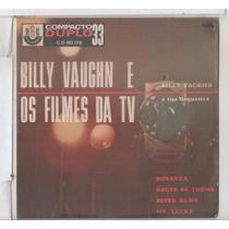 Compacto Vinil Billy Vaughn E Os Filmes Da Tv - Rge Compacto