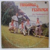 Lp Fandango & Festança - Os Fandangueiros - Brasidisc