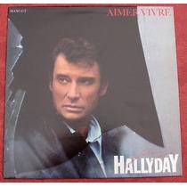 Compacto 7 Johnny Hallyday - 1985 - Raro, 2 Faixas.