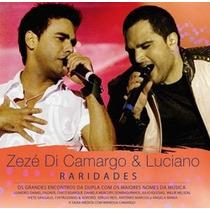 Zezé Di Camargo E Luciano * Raridades * Cd * Frete Grátis Br