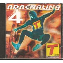 Cd Adrenalina Transamerica Vol .4 ( Lacrado De Gravadora )
