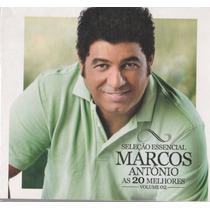 Cd Marcos Antonio As 20 Melhores Vol.2