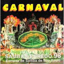 Cd - Carnaval 1998 - Sambas Enredo De São Paulo