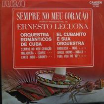 Lp Ernesto Lecuona - Orquestra Românticos De Cuba Vinil Raro