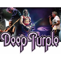 Deep Purple - Shows Em Dvd De 1969 A 2015 + Cd Brinde