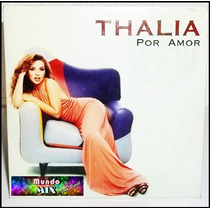 Raro Cd Single Thalia * Por Amor * 1997 Emi * Original