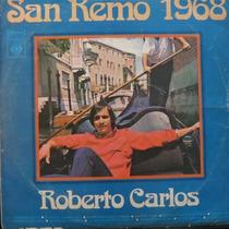 Lp Roberto Carlos - San Remo 1968 - Vinil Raro