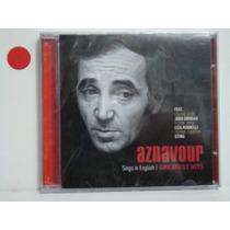 Cd - Charles Aznavour - Sings In English (lacrado)