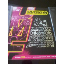 Dvd + Cd Ultra Music Festival 2009 (lacrado)