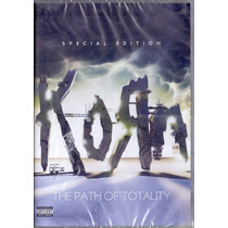 Dvd Duplo Korn - Special Edition The Path Of Totality - Novo