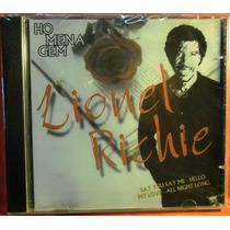 Rock Pop Funk Soul Blues Cd Lionel Richie Homenagem Lacrado