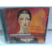 Cd Felicia Blumental/clássicos De Portugal (frete Grátis)