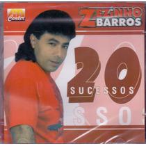 Cd Zezinho Barros - 20 Sucessos - Novo***