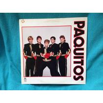 Lp Paquitos - Ed. 1990 Xuxa Discos Raro Sem Uso Impecável