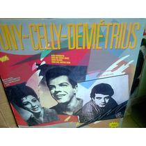 Lp Tony Celly Demetrios 1989 Exc Estado
