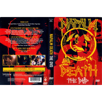 Napalm Death - The Dvd - Dvd - Grindcore - Importado